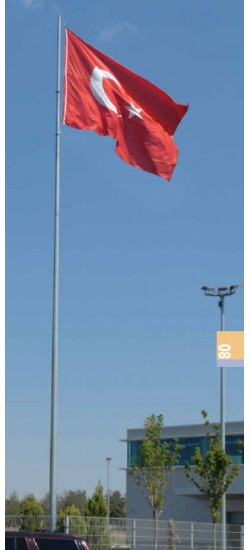 İçten İpli Bayrak Direkleri