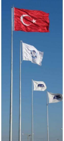 Asansörlü Bayrak Direkleri