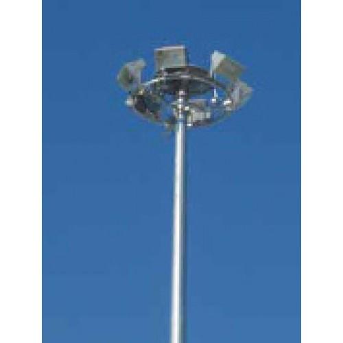 Çift Yönlü Dairesel Asansörlü Mekanizmalı Projektör Direği